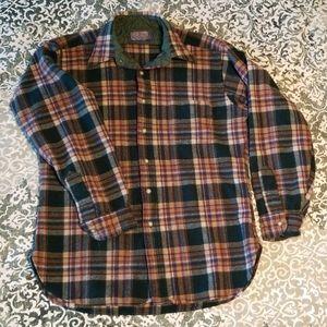 Vintage 100% Wool Flannel